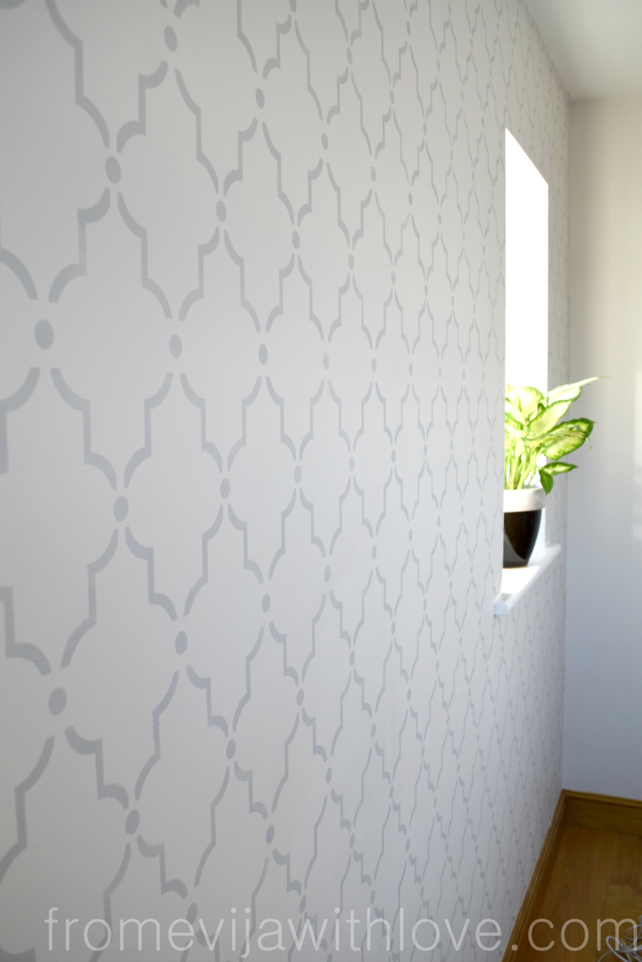 Stencil wall design choice image home wall decoration ideas how to stencil a wall beginners guide from evija with love what do you think amipublicfo amipublicfo Gallery