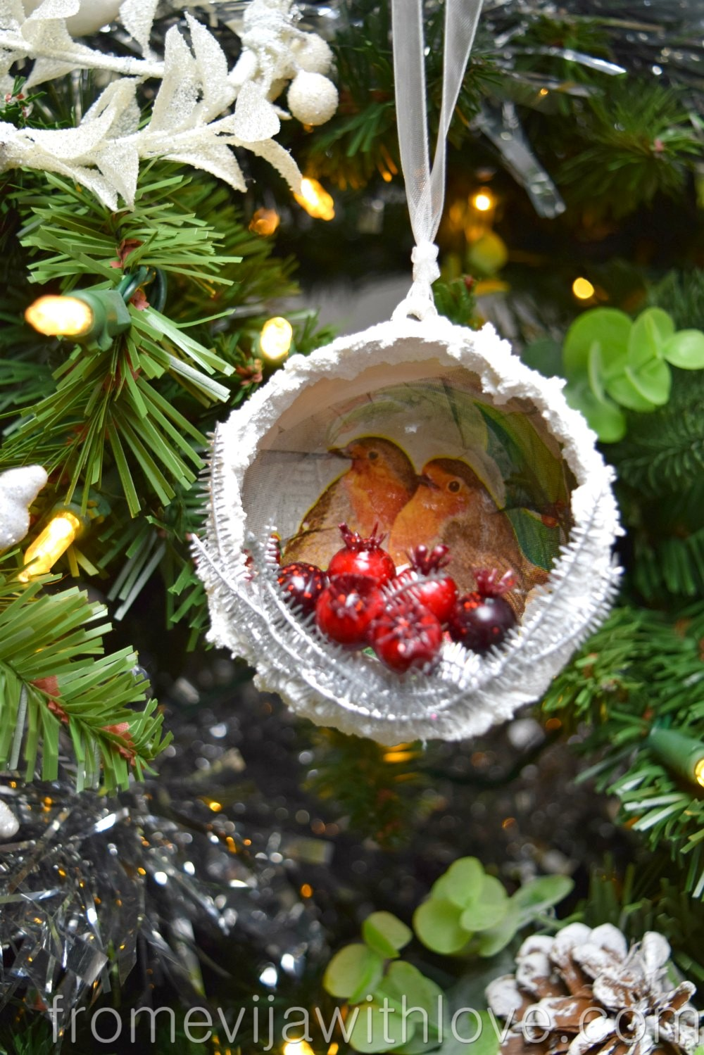 DIY Blog Challenge - Robin Christmas Decoration - From ...